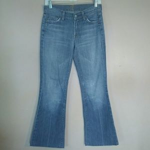 7FAM Sz 27 Flare Jeans
